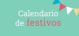 Calendario de dias festivos